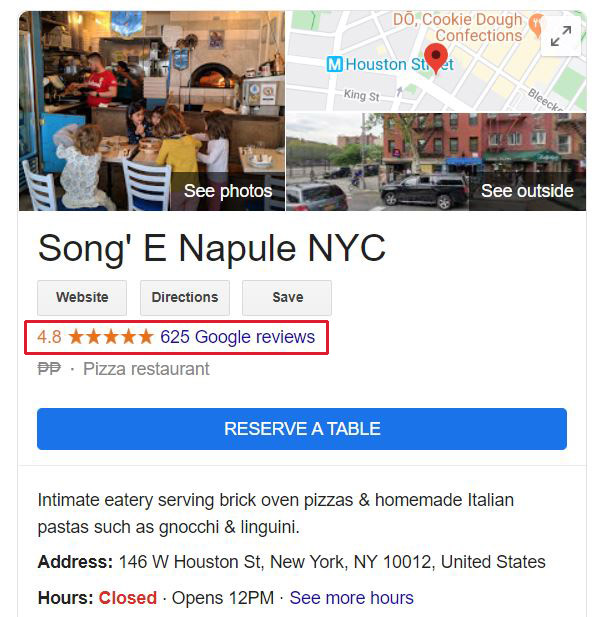 Google My Business - Ways To Social Proof